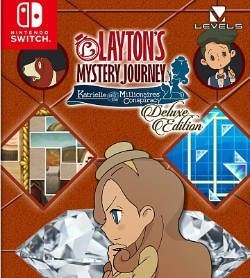 Layton's Mystery Journey: Katrielle and the Millionaires' Conspiracy. Цифровой ключ
