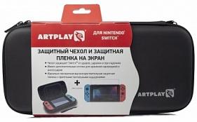 1609bdbca78d Чехол и защитная пленка Artplays для Nintendo Switch черный