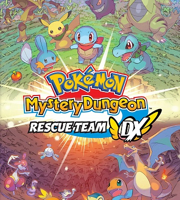 Pokémon Mystery Dungeon: Rescue Team DX. Цифровой ключ
