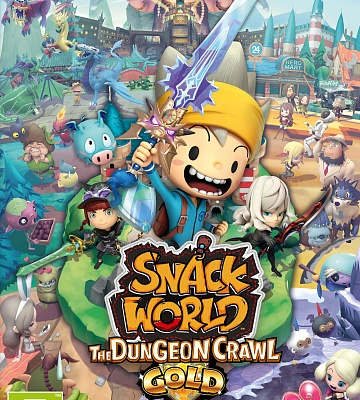 Snack World: The Dungeon Crawl - GOLD. Цифровой ключ