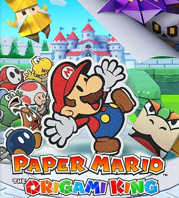 Paper Mario: The Origami King. Цифровой ключ